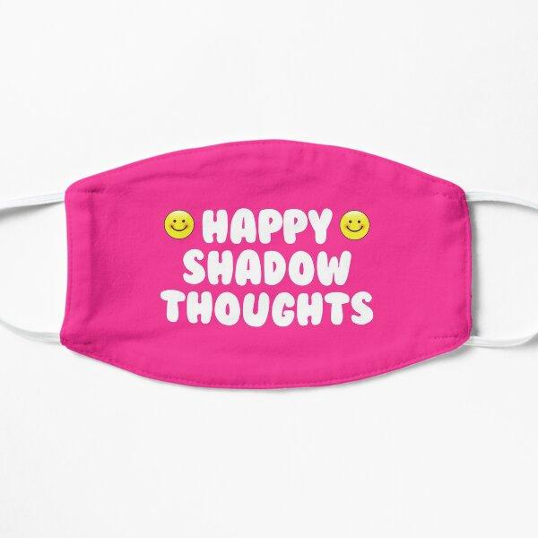Pensées d'ombre heureux Masque sans plis