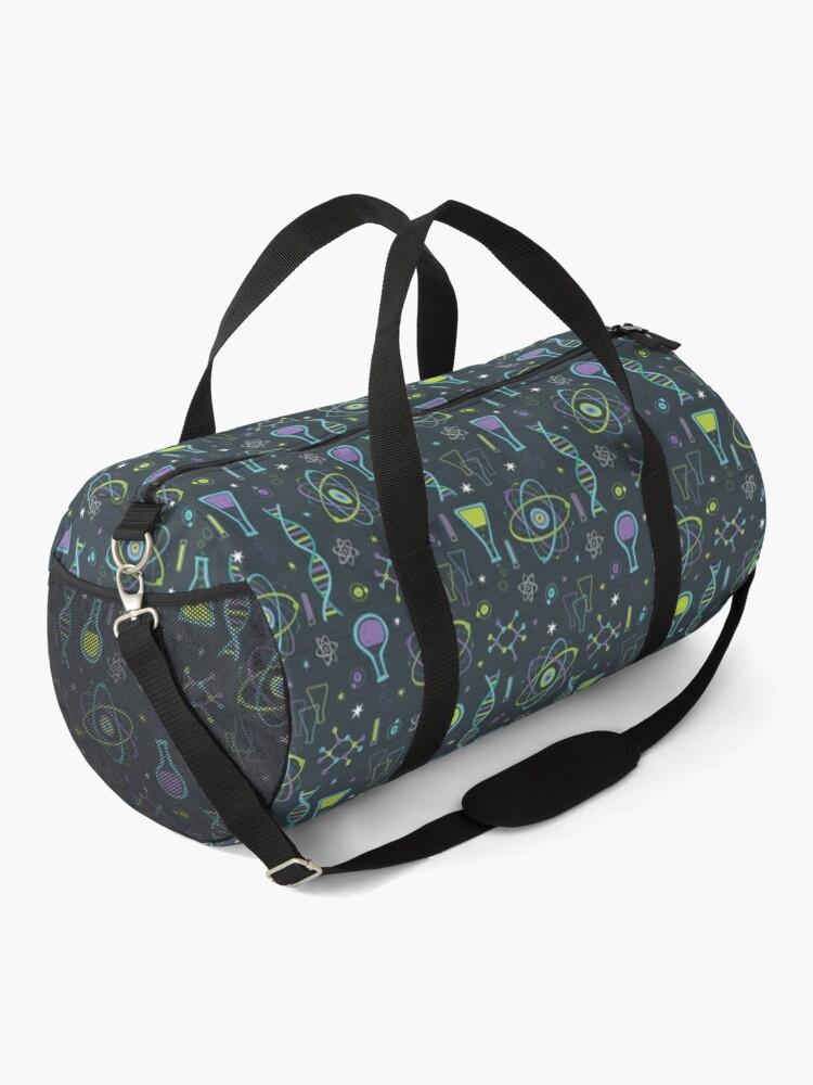 Alternate view of Midcentury Modern Science Duffle Bag