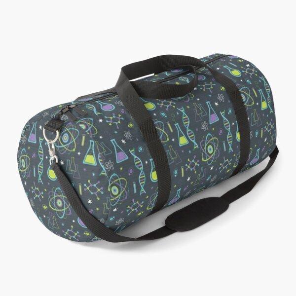 Midcentury Modern Science Duffle Bag