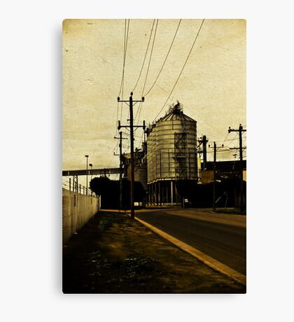 In dust trial Canvas Print
