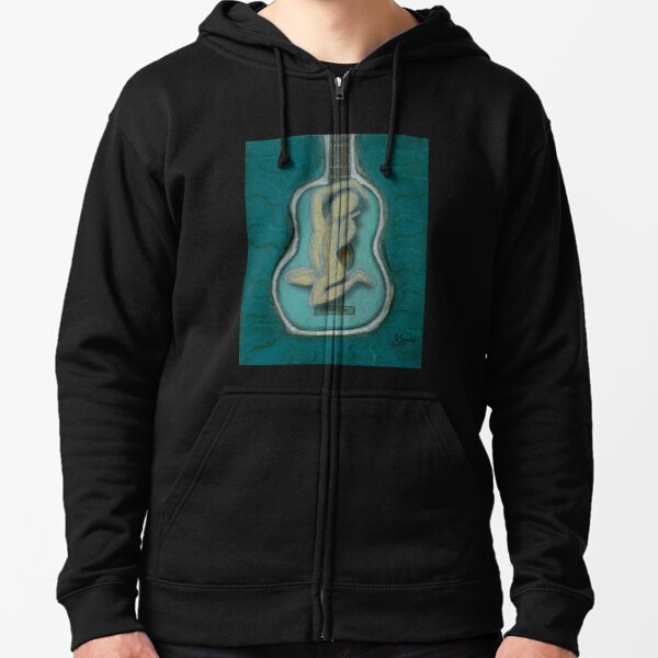 The Music Within Your Soul-V Zipped Hoodie