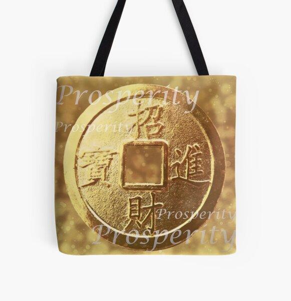 Prosperity All Over Print Tote Bag