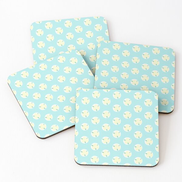 Hope Pattern Offset Coasters (Set of 4)