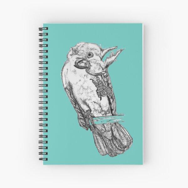 Frisky the Cockatoo Spiral Notebook