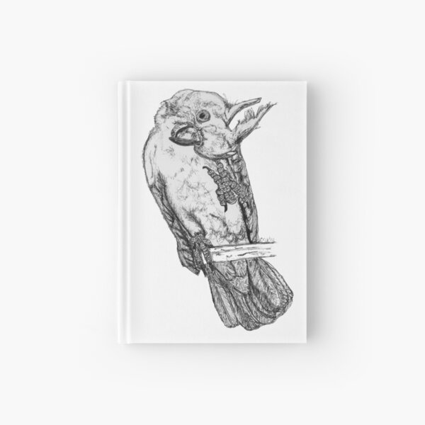 Frisky the Cockatoo Hardcover Journal