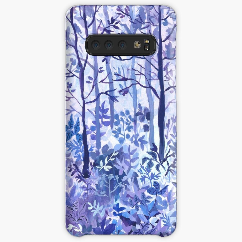 Lavendel Hülle & Klebefolie für Samsung Galaxy