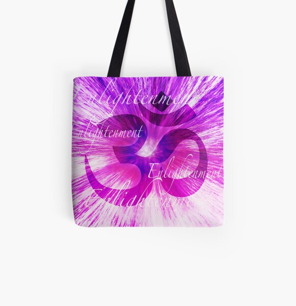 Enlightenment All Over Print Tote Bag