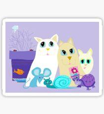Friendships Beyond Compare Sticker