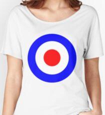 Tank Girl (Booga's Bullseye) Women's Relaxed Fit T-Shirt