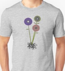 Geometric Flowers T-Shirt