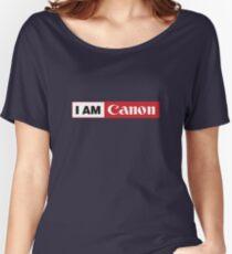 I AM CANON - Camera Shirt Women's Relaxed Fit T-Shirt