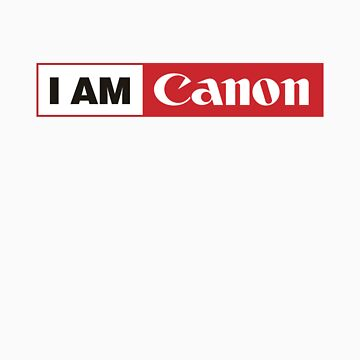 I AM CANON - Camera Shirt by aditmawar