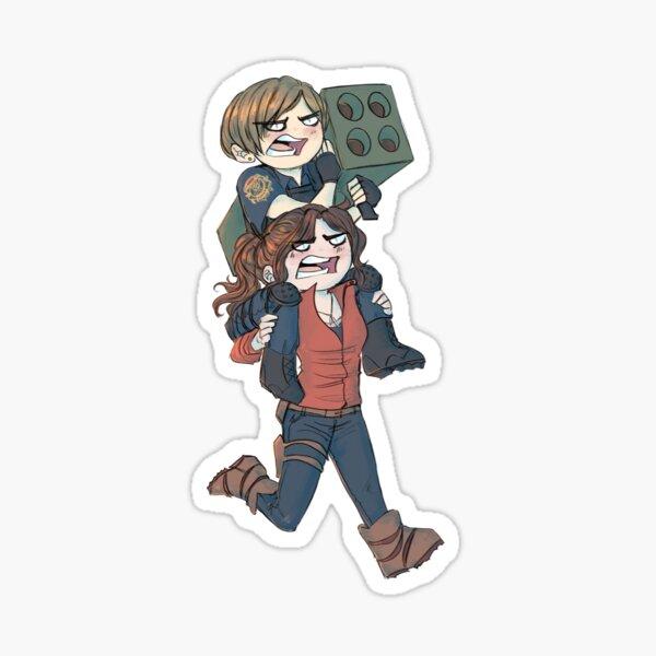 Léon et Claire Sticker