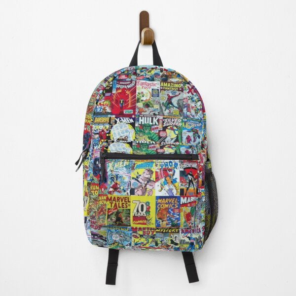 Retro Comic book collection Backpack