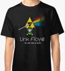 Link Floyd: the Dark Side of Hyrule Classic T-Shirt