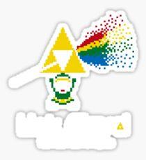 Link Floyd: the Dark Side of Hyrule Sticker
