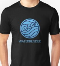 Waterbender (with text) T-Shirt