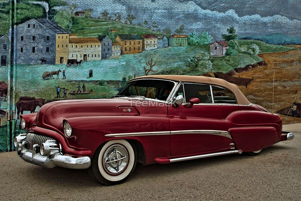 1951 Buick Custom Convertible by TeeMack