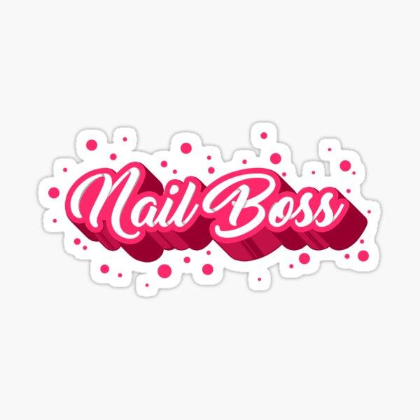 Nail Boss Sticker