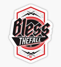 Blessthefall Shield Sticker