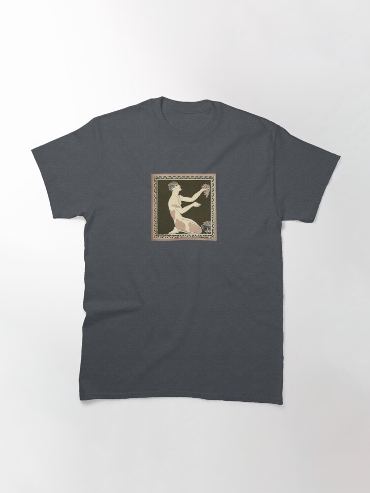 Alternate view of Prélude à l'après-midi d'un faune by George Barbier, 1913 Classic T-Shirt