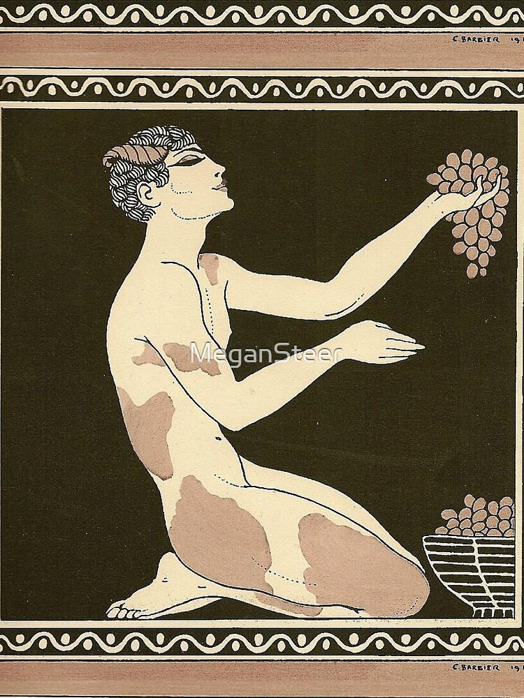 Prélude à l'après-midi d'un faune by George Barbier, 1913 by MeganSteer