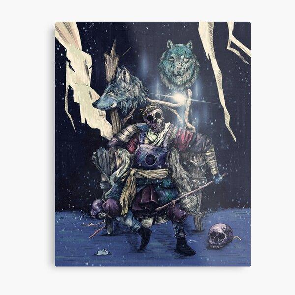 throne. Metal Print