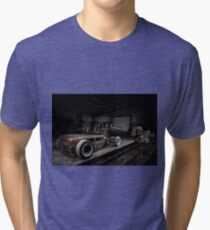 1930 Ford Model A Rat Rod Tri-blend T-Shirt