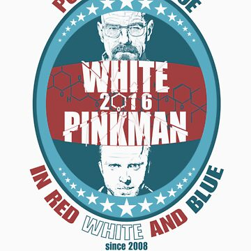 walt and jesse for president by CMorkaut