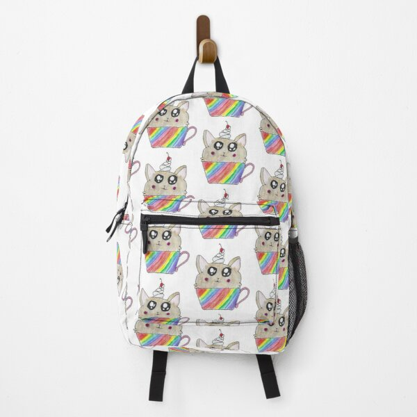 Adorable Corgi Drawing Backpack