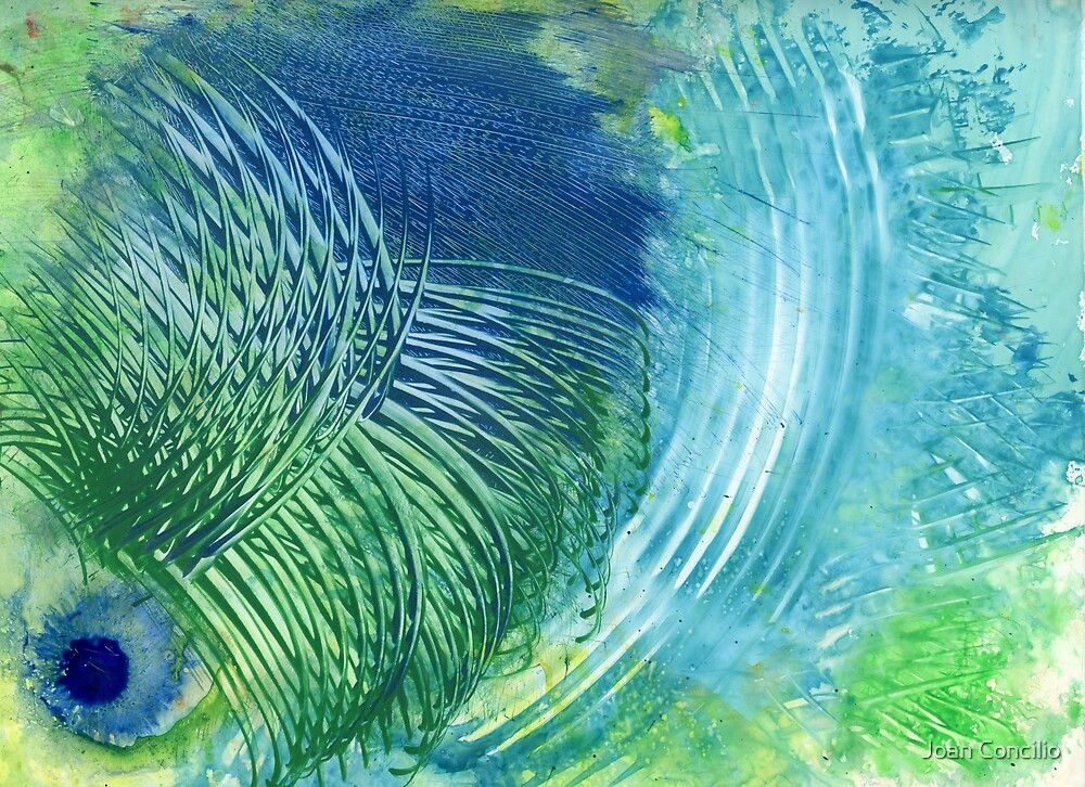 Peacock by Joan Concilio