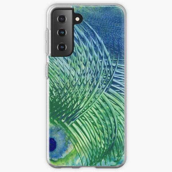 Peacock Samsung Galaxy Soft Case