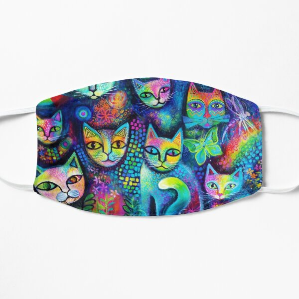 Magicats Flache Maske