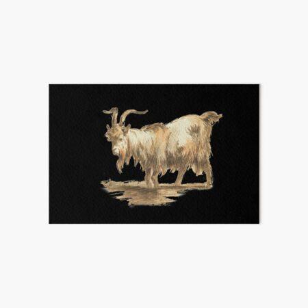 Goat Art Board Print