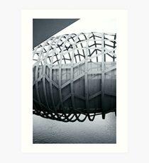 Underbelly (split toned) Art Print