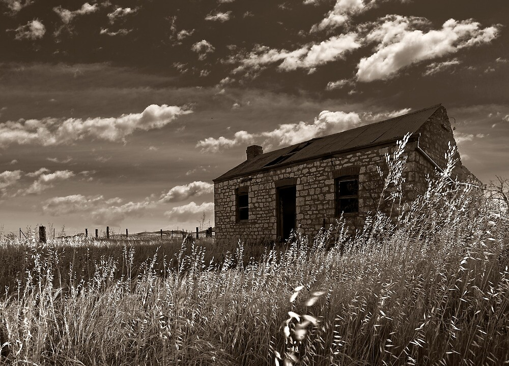 Eudunda ruin in Afternoon Light by pablosvista2