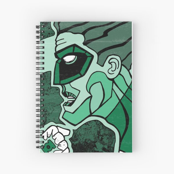 Emerald Flashlight Spiral Notebook