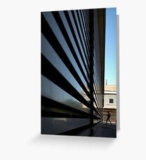 Modernism Tries to Make Us Small Greeting Card