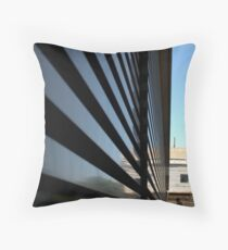 Modernism Tries to Make Us Small Throw Pillow