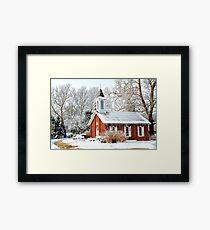 Danforth Chapel Framed Print