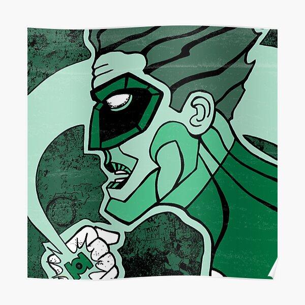 Emerald Flashlight Poster