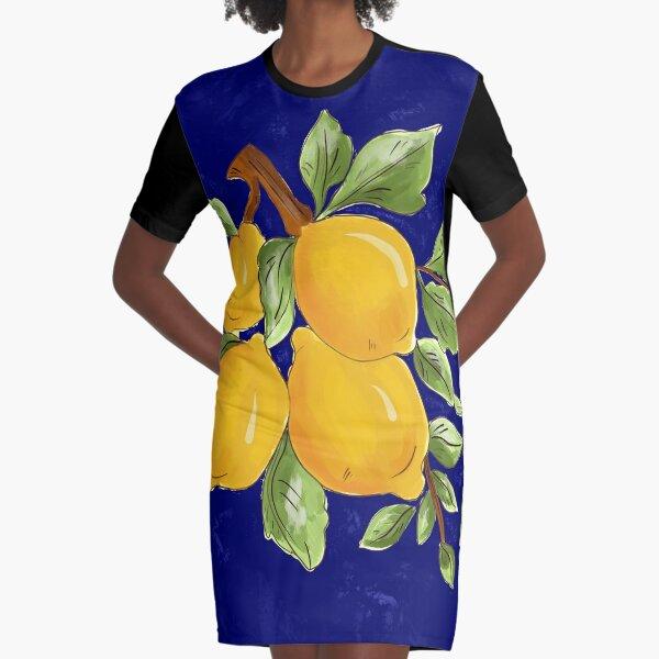 Citrus,Sicilian style summer decor  Graphic T-Shirt Dress