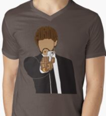 Furious Anger Mens V-Neck T-Shirt