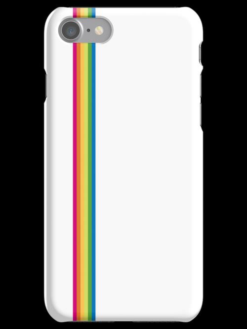 Rainbow Stripe - White by ChoCho