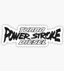 Power Stroke Sticker