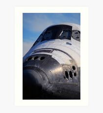 "Space Shuttle ""Endeavour"" Transit Art Print"