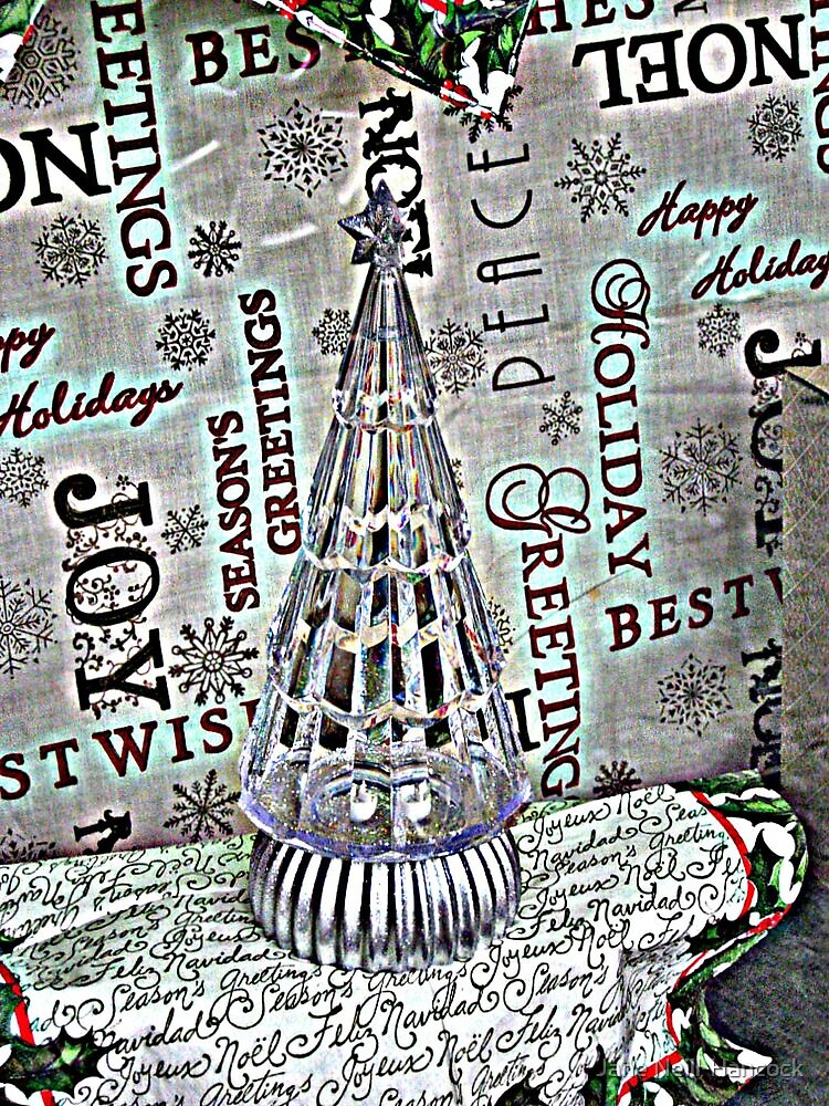 Crystal Christmas Tree by Jane Neill-Hancock