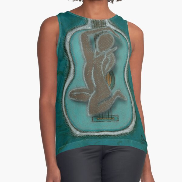 The Music Within Your Soul-C Sleeveless Top