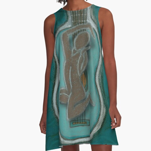 The Music Within Your Soul-C A-Line Dress