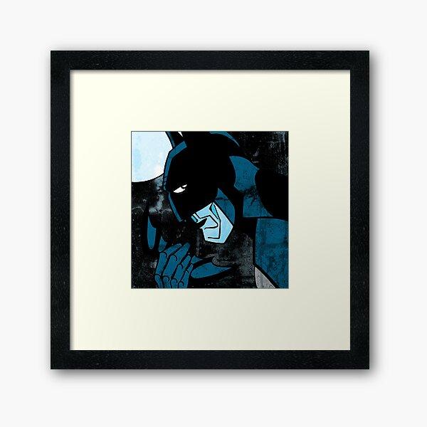 Dark Nightman Framed Art Print